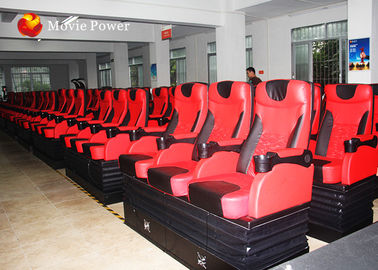 Large 80 Seat 4D Cinema Equipment 4D Simulator Blow Water / Air To Face