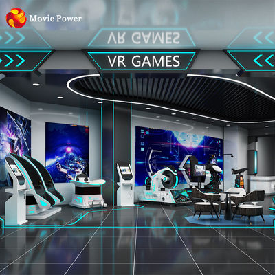 Indoor Kids Video Games Entertainment Virtual Reality 9d Vr Game Simulator